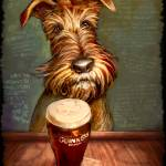 """IrishTerrier"" by odbrush"
