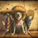 """The 3 Banditos"" by odbrush"