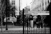 Northeastern-B&W