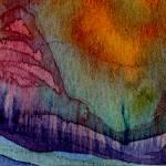 """""Peace Mountain II"" #41 02 22 07"" by achimkrasenbrinkart"