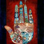 """""""Psychic Hand"""" by marydelave"""