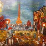 """Rainy day in Paris"" by jehangalleria"
