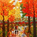 """Stroll in London Park"" by jehangalleria"
