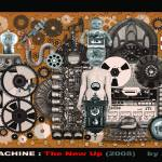 """Broken Machine - The New Up (2008)"" by artdamaged"
