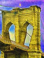 Brooklyn Bridge Fauvist DSC02413