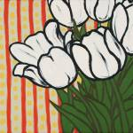"""Tulips With Lines and Dots"" by harryboardman"