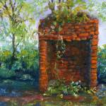 """Fireplace at Melrose Plantation"" by Lenora"