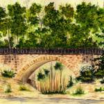 """Parapet Bridge (Mill Creek Park)"" by vigliotti"