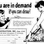 """Artist in Demand, 1950 mail-order ad"" by arcaniumantiques"
