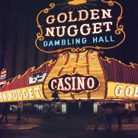 Golden Nugget Hotel and Casino Art Prints & Posters by Robert Estes