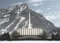 Provo temple Large-16x22-tinted