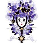 """Violet Victoria the Clown"" by pamelalaregina"