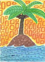 Palm Tree Drawing