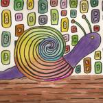 """Funky Snail"" by joclaire"