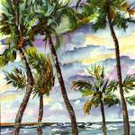 """Bahamas Beach & Palms"" by GinetteCallaway"