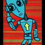 """""""Robot #4"""" by artdamaged"""