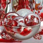 """Bowl of Red Snow Berries"" by tricia"