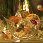 """""""Christmas Bowl of Amazing Circles"""" by tricia"""
