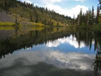 Reflection on Twin Lakes