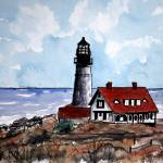 """portland head lighthouse maine"" by derekmccrea"