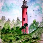 """jupiter lighthouse florida"" by derekmccrea"