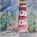 """new sapelo lighthouse"" by derekmccrea"