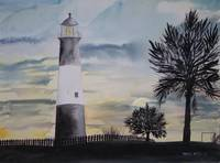 TYBEE LIGHTHOUSE GA PAINTING