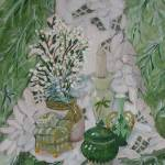 """Still Life in Greens"" by christinaharvey"