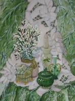 Still Life in Greens