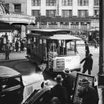 Cablecar Turnaround at Powell and Market Street, c