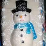 """Marzipan Snowman"" by Newleaf"