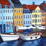 """Colors of Nyhavn I"" by LisaLorenz"