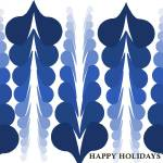 """holiday card_blue"" by jenn_art"