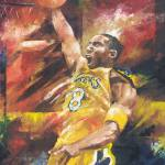 """Kobe Bryant - The Legend"" by creativesportsart"