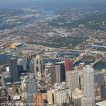 """Cessna Nose Over Pittsburgh"" by shutterrudder"