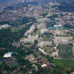 """Carnegie Mellon University Aerial"" by shutterrudder"