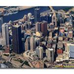 """Center City Downtown Pittsburgh Aerial"" by shutterrudder"