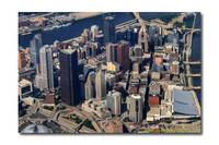 Center City Downtown Pittsburgh Aerial