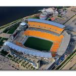 """Heinz Field Aerial:  Pittsburgh"" by shutterrudder"