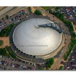 """Mellon Arena Aerial: Pittsburgh, PA"" by shutterrudder"