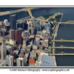 """Pittsburgh Aerial: Summer 2007"" by shutterrudder"