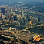 """Pittsburgh Pennsylvania Aerial"" by shutterrudder"