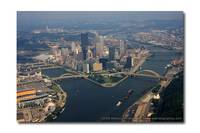 Pittsburgh's Golden Triangle:  Aerial