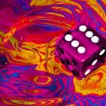 """""""pink dice"""" by Sylmercier22"""