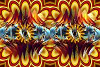 Electric Onion (stereogram)