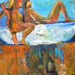 """BATHING NUDES"" by leyla"