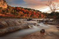 River Rapids: Autumn Evening Light II