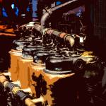 """Tractor Engine"" by JamesHowePhotography"