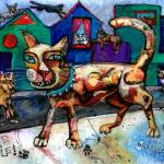 """""""Cats Rule"""" by marydelave"""