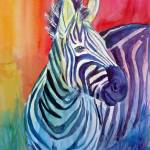 """Rainbow Stripes"" by loragarcelon"